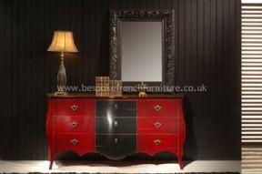 Glamour 9 Drawer Chest